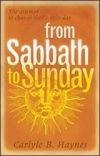 From Sabbath to Sunday