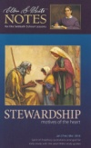 Stewardship: Motives of the Heart (Ellen G. White Notes 1Q 2018)