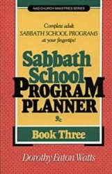 Sabbath School Program Planner, Book 3
